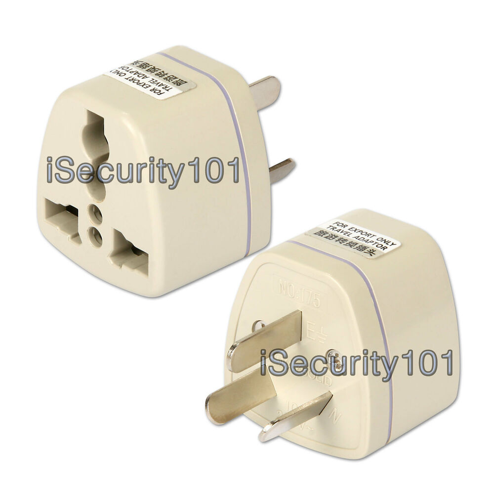 5x Us Uk Eu To Au Australia Nz Travel Adapter Adaptor Ac
