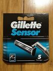 30 Gillette Sensor Regular Shaver Razor Blade Refill Cartridges Genuine 6 Packs
