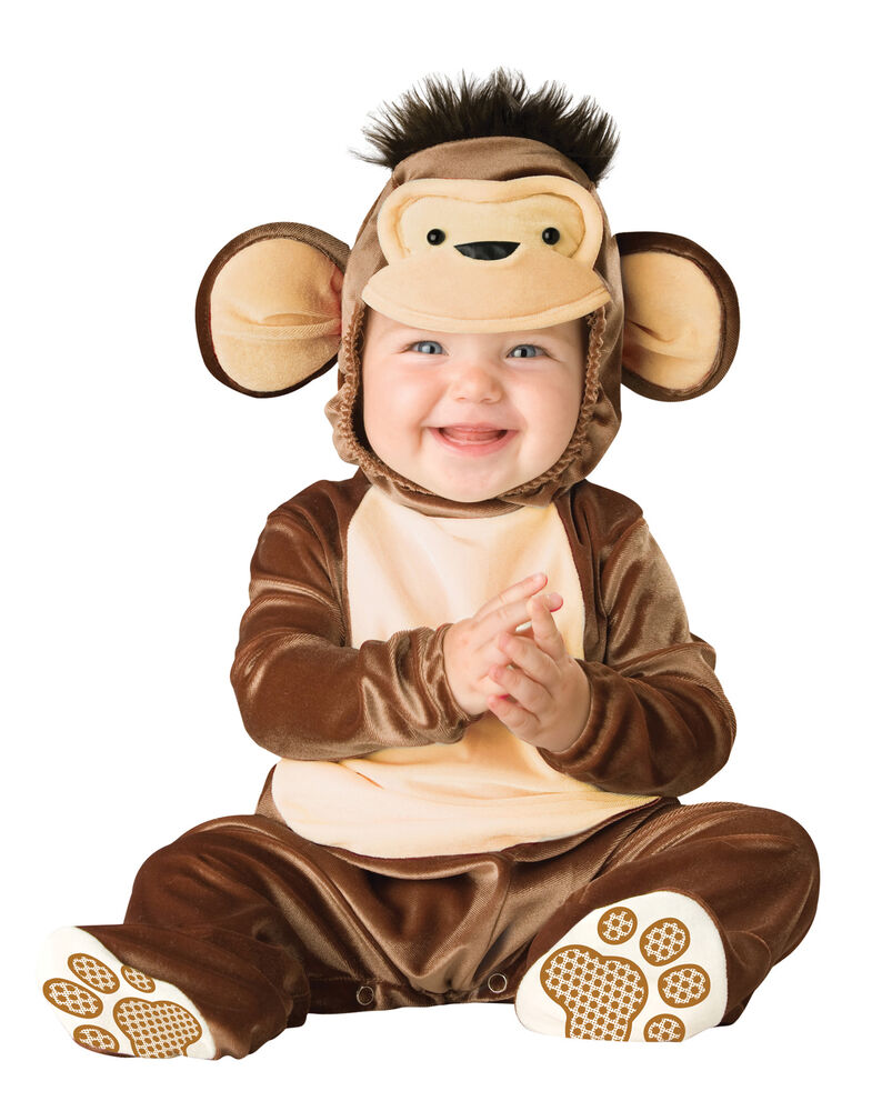 Monkey outfit for baby
