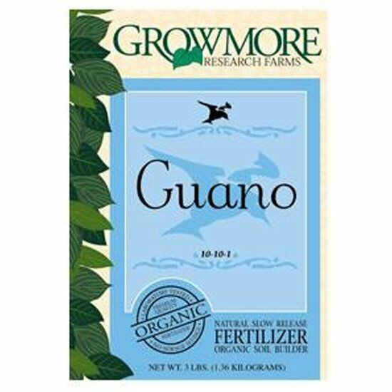 Grow more seabird guano 3 lb organic soil fertilizer ebay for Organic soil uk