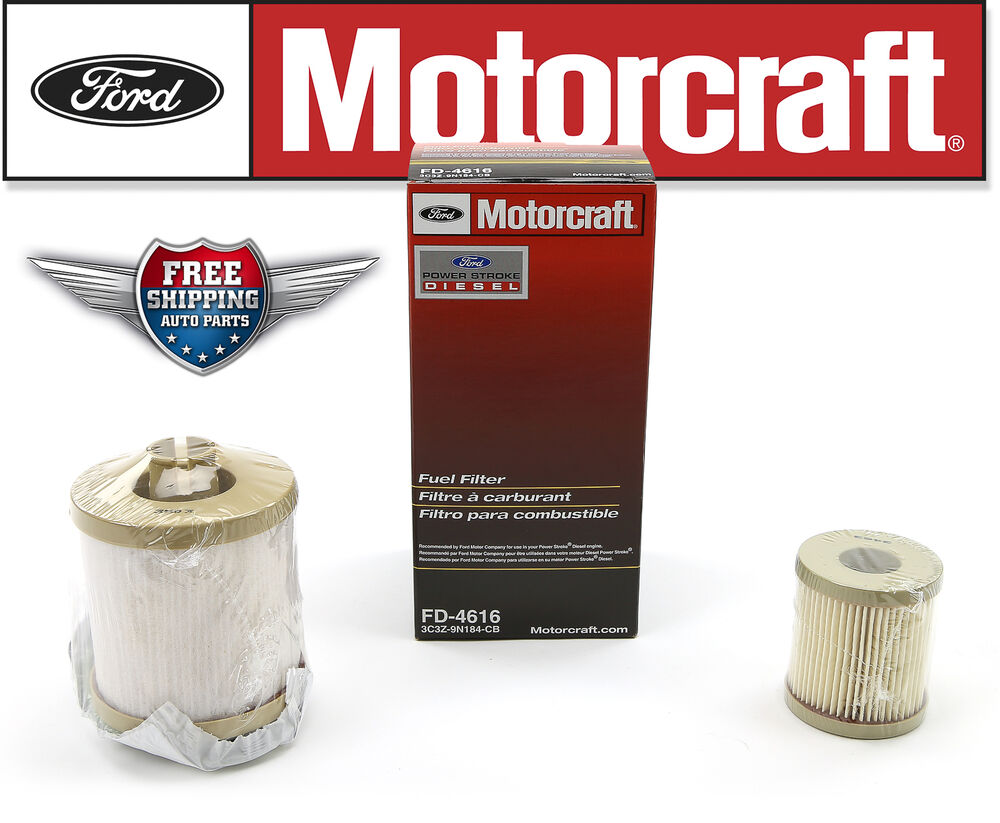 motorcraft fuel filter fd4616 2003 2007 ford f250 f350. Black Bedroom Furniture Sets. Home Design Ideas