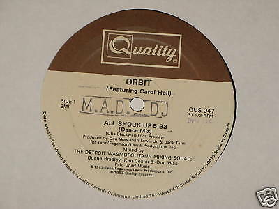 Orbit 3 Featuring Carol Hall The Beat Goes On