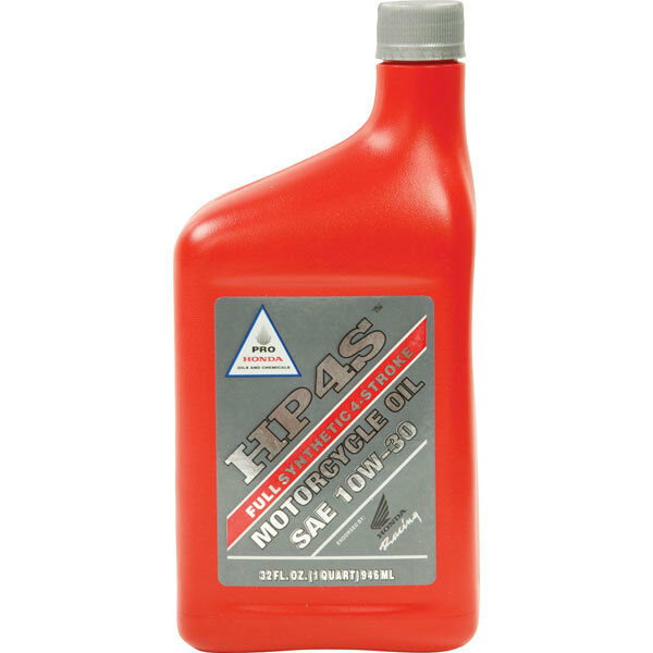 8 (32 fl oz) bottles honda hp4s 4-stroke motorcycle oil 10w-30 | ebay