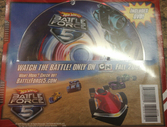 Hot Wheels Battle Force 5 2009 Collector Catalog Included DVD SEALED Promo SDCC | eBay