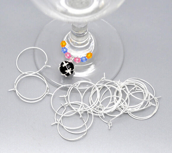 Where To Buy Wine Glass Charm Rings
