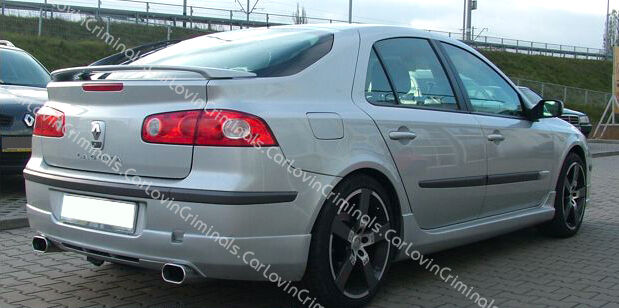 renault laguna mk2 phase 2 rear bumper spoiler skirt ebay. Black Bedroom Furniture Sets. Home Design Ideas