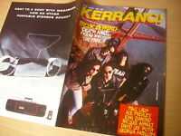 KERRANG  Great Classic  Rock / Heavy Metal magazine  18/06/1988  #192
