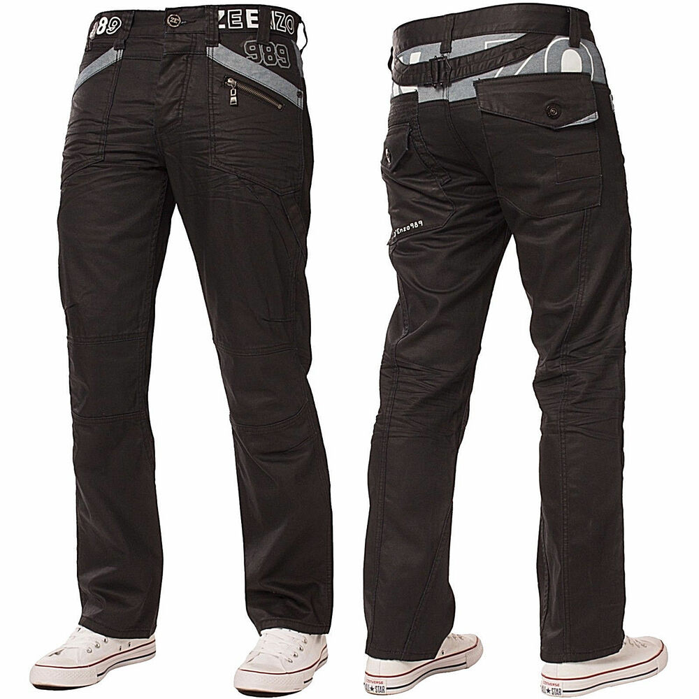 Mens Cuffed Jogger Jeans
