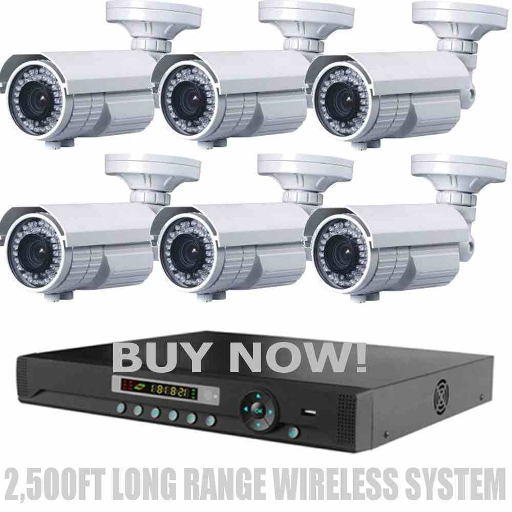 Long Distance Wireless 2 500ft Night Vision 720p Hd