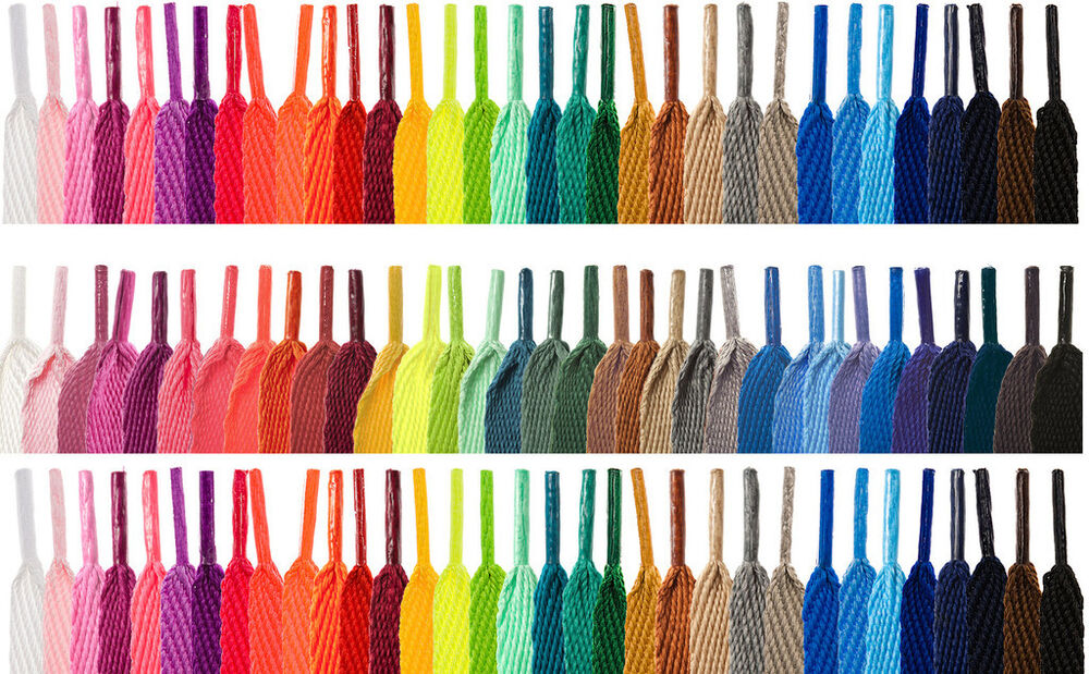 Ebay Coloured Shoe Laces
