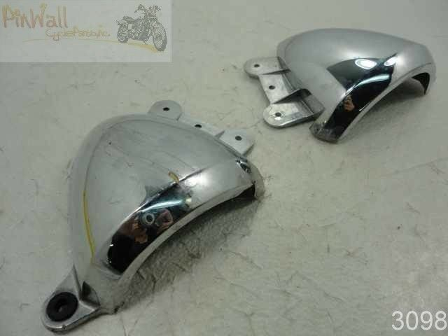 03 suzuki bandit gsf1200 1200 chrome carburetor covers ebay. Black Bedroom Furniture Sets. Home Design Ideas