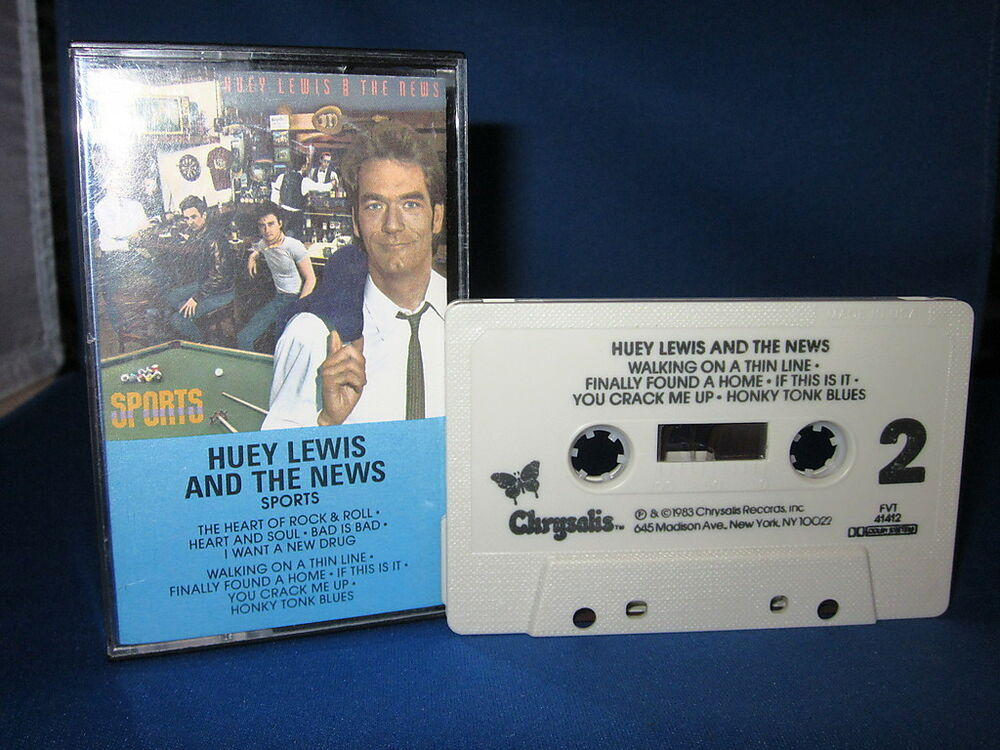 Huey Lewis And The News Sports 25