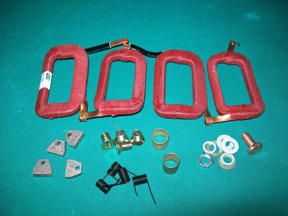 delco starter field coil rebuild kit farmall super h m w 6 12 volt conversion ebay. Black Bedroom Furniture Sets. Home Design Ideas