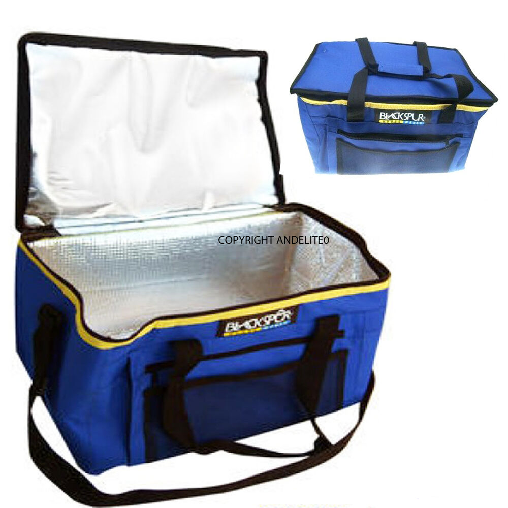 Large Coolbag Ice Box Picnic Camping Cool Bag Cooler Ebay