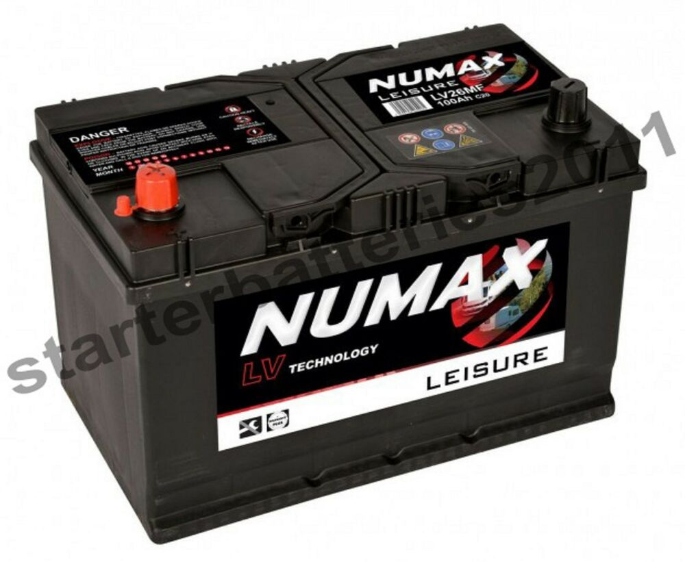 12v 100ah numax lv26mf deep cycle battery electric fence. Black Bedroom Furniture Sets. Home Design Ideas