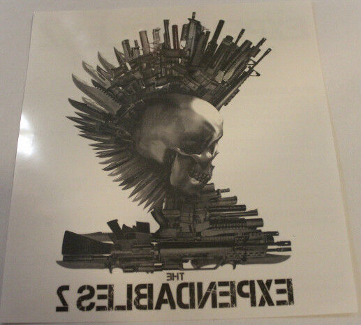 Expendables Tattoo Wallpaper Expendable Tattoo Drawing By: SDCC Promo Temporary Tattoo LARGE Expendables 2 Movie