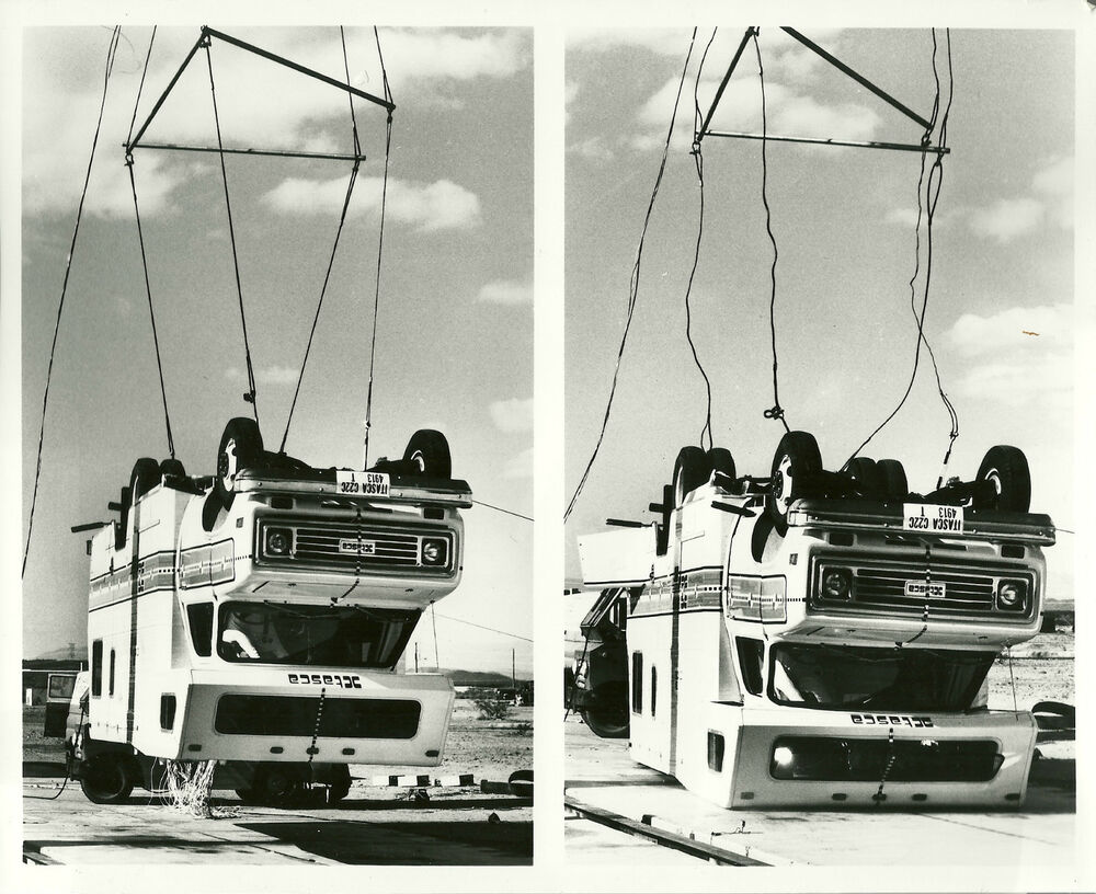 1977 itasca mini camper motor home rv crash test photo for How much does it cost to list on ebay motors