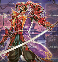 YU-GI-OH PLAYMAT FROM THE SAMURAI WARLORDS DECK