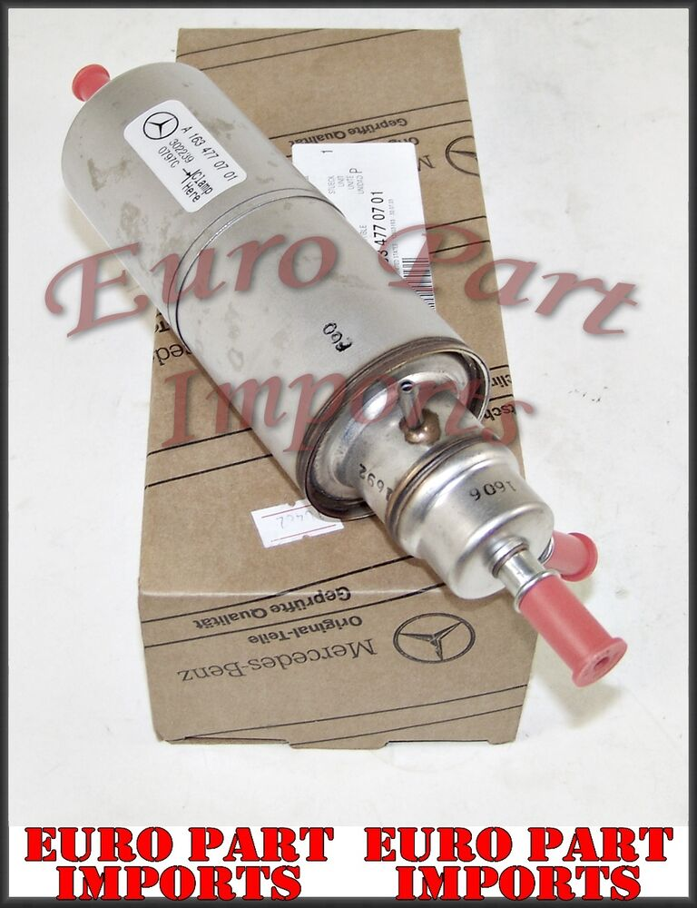 Mercedes benz fuel filter genuine factory oem ebay for Mercedes benz fuel filter