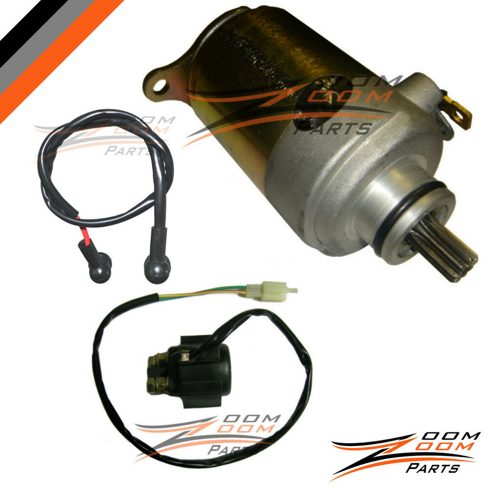 wildfire jonway 125cc 150cc starter motor and relay. Black Bedroom Furniture Sets. Home Design Ideas