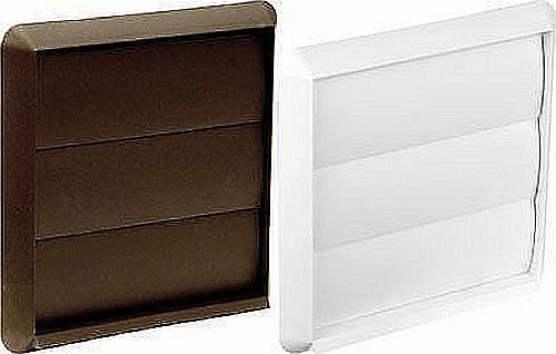 Square Vent Duct : In sizes square air flap vent duct grill wall outlet