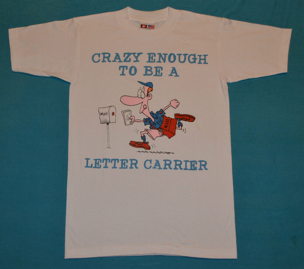 Post office letter carrier t shirt now discounted plus for Usps t shirt shipping