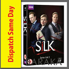 SILK Complete Series 1 & 2 BBC DVD Box Set one two 1st 2rd 4 Discs R4/Aus
