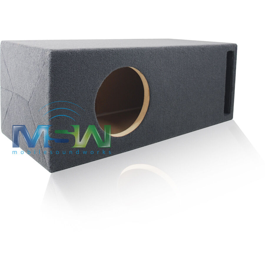 8 custom ported 3 4 mdf subwoofer enclosure for 1 jl for L ported speaker box