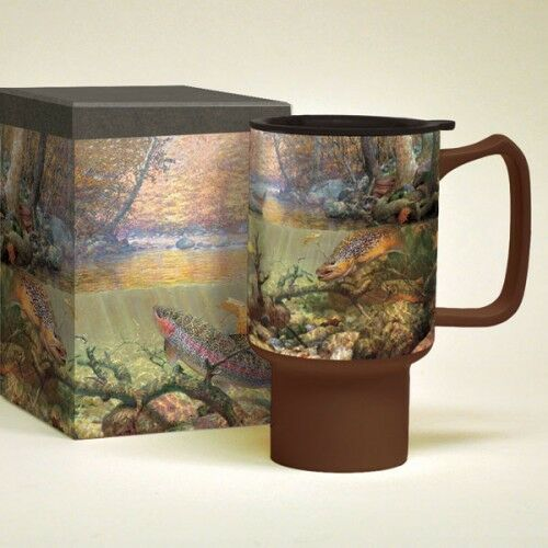 Lang Autumn Day Dream Travel Mug Cup Mark Sussino New Lid