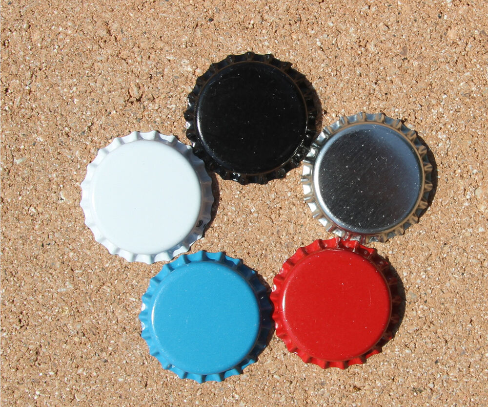 Personalized colored bottle caps for hair bows or for How to use bottle caps