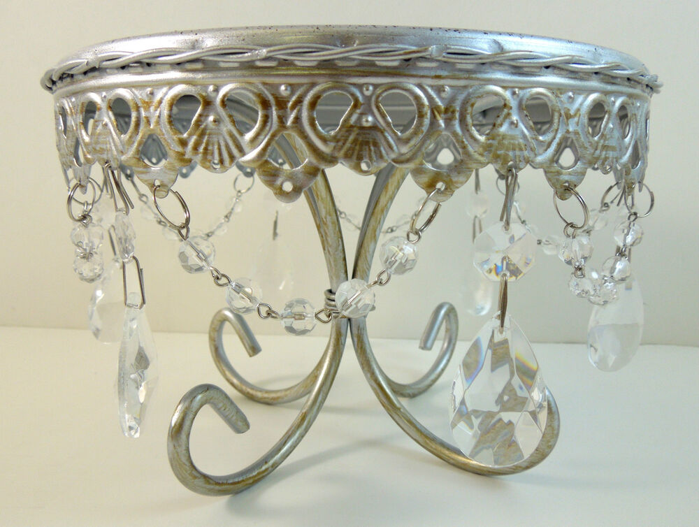 jeweled wedding cake stands small silver jeweled cake pedestal cupcake stand quot wedding 16595