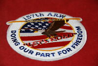 157TH ARW SPIRIT OF 9-11 LETS ROLL MILITARY PATCH NEW