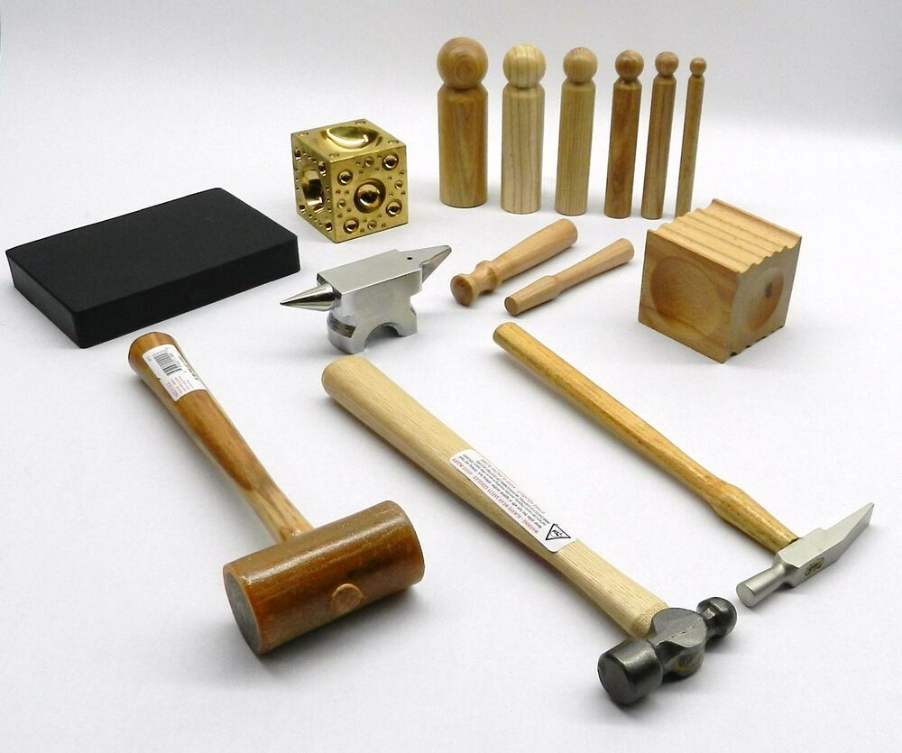 Metalsmith Tool Kit Basic Blocks Hammers Metal Smithing