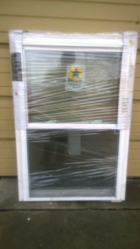 Brand New Nice Home White Vinyl Double Hung Window 32x46