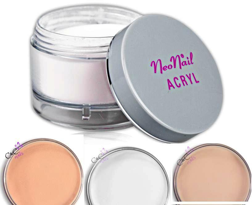 acryl puder pulver 30ml in wei rosa clear cover ebay. Black Bedroom Furniture Sets. Home Design Ideas