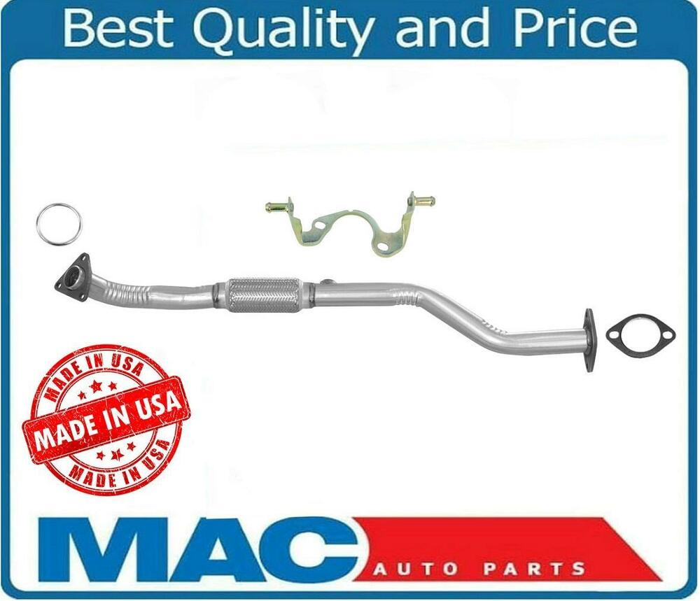 Engine Exhaust Flex Pipe With Bracket For 1996 2001 Nissan