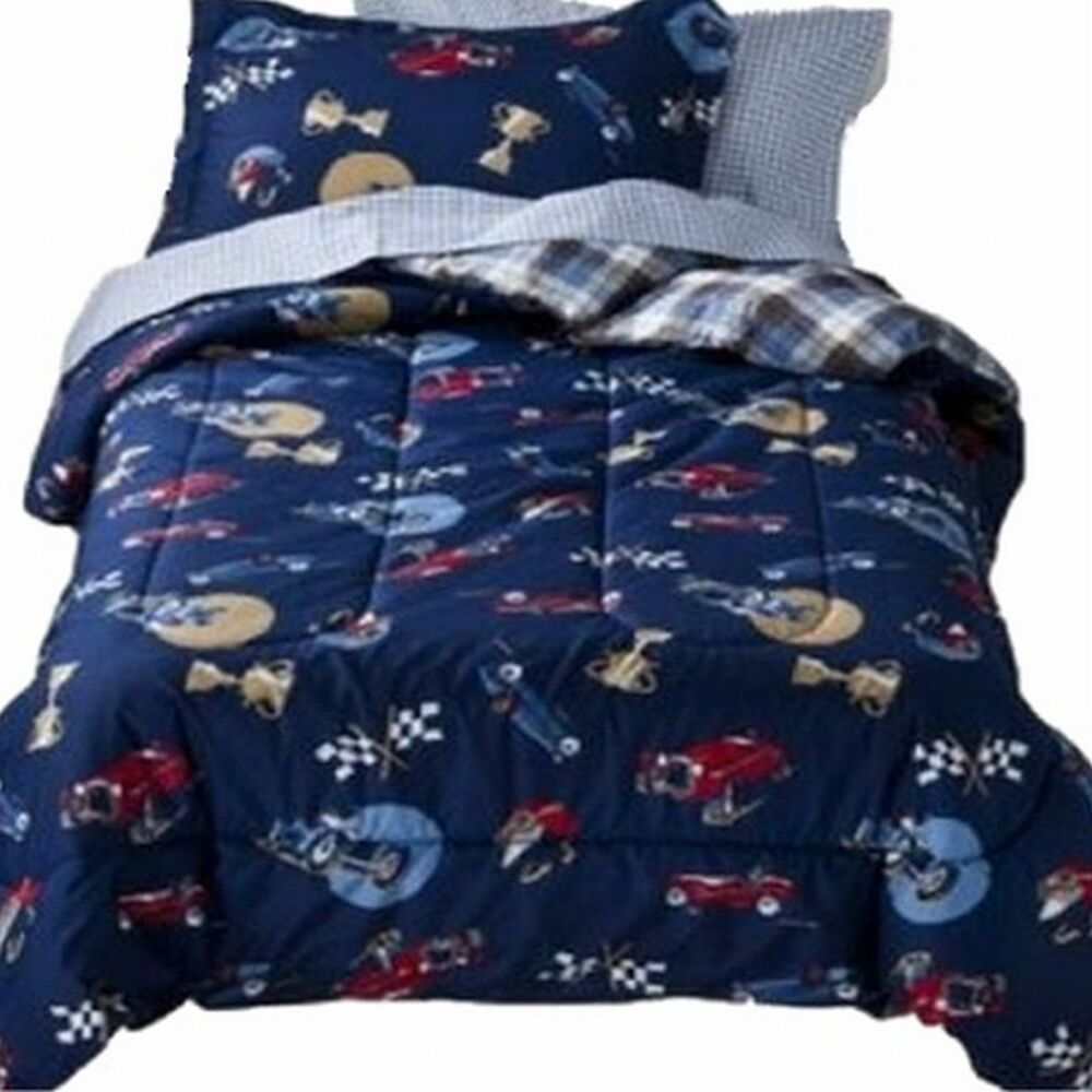 circo full bed in a bag vintage cars boys comforter set