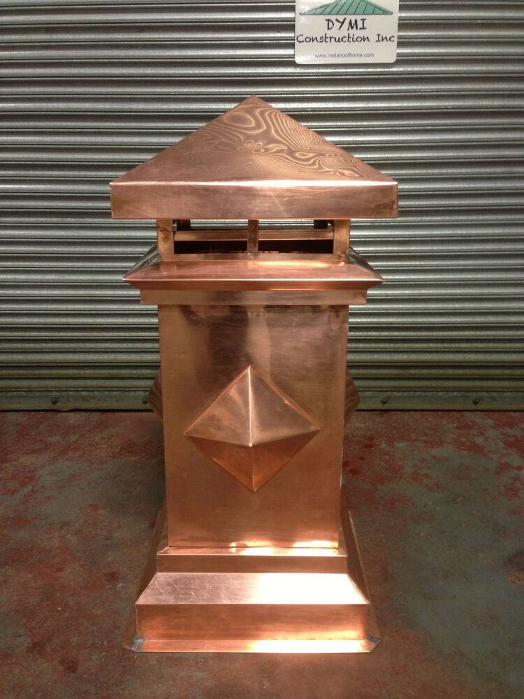 Copper Chimney Cap Ebay