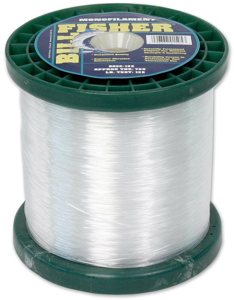 Billfisher mono fishing line clear 200 lb test for Bulk braided fishing line