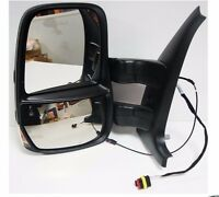 NEW! Genuine Iveco Daily Wing Mirror LH 2006 - 2014 SHORT ARM HEATED MANUAL