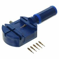New Watch Link Pin Remover Band Strap Adjusting Repair Tool w / 5 Extra Pins