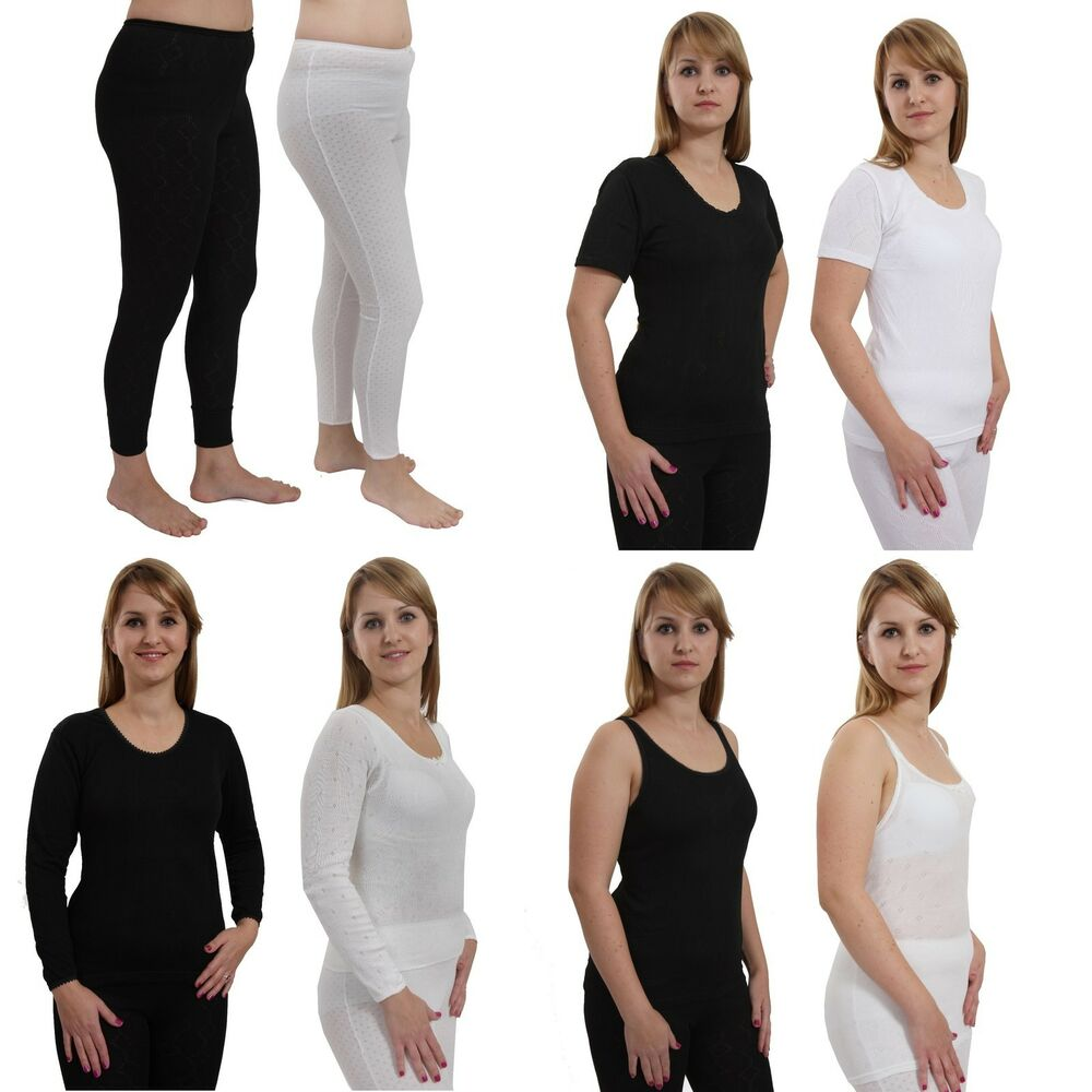 Ladies Long Jane Thermal Underwear in White B.U.L ® Ladies Extreme Hot Thermal Underwear Short Sleeve Vest Suitable for Winter, Outdoor Work, Travel, Camping & Ski Wear Size S-XXL by Thinsulate Thermals.