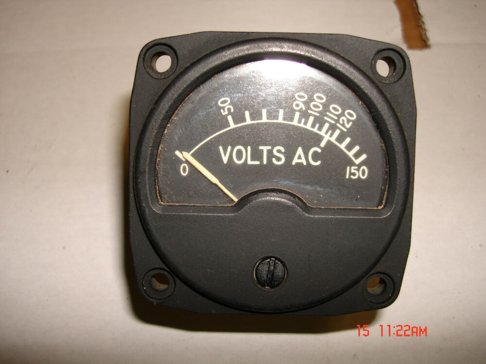 Volt Meters Panel Mount : Generator solar ac volt meter panel mount ebay