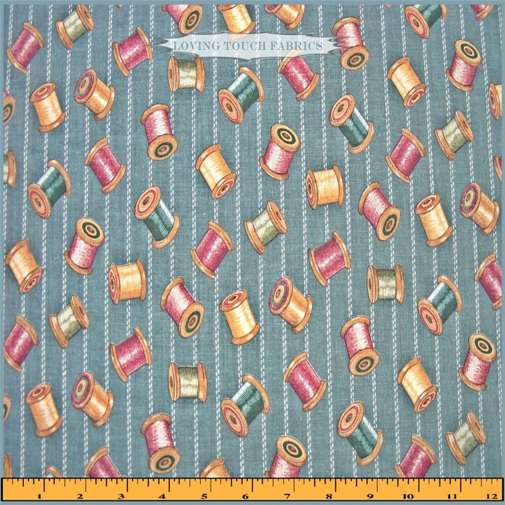 1995 concord fabrics kesslers sewing theme notions thread for Dressmaking fabric
