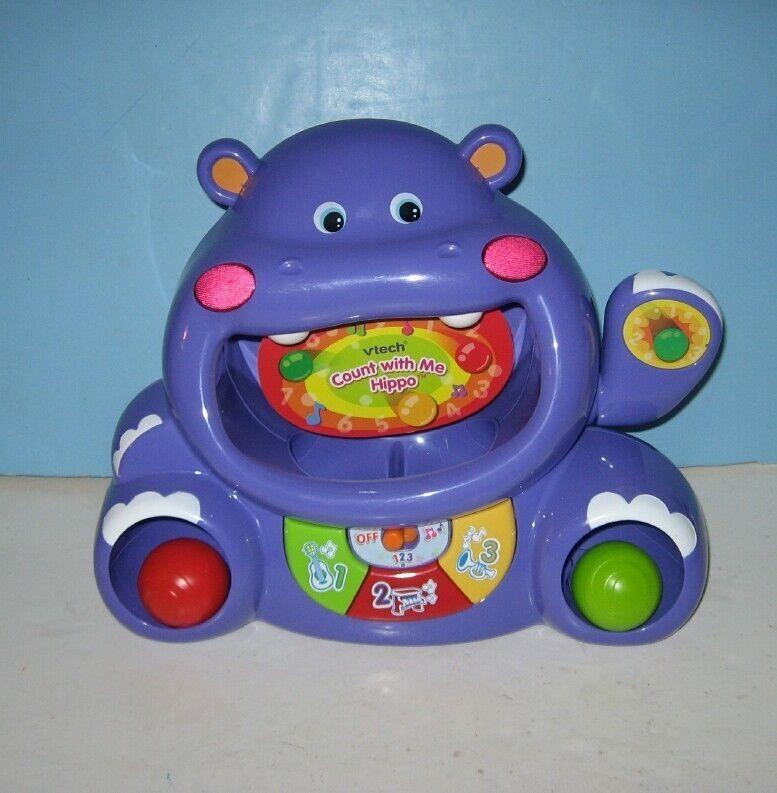 Electronic Vtech Count With Me Hippo The Fun & LEARNING ...