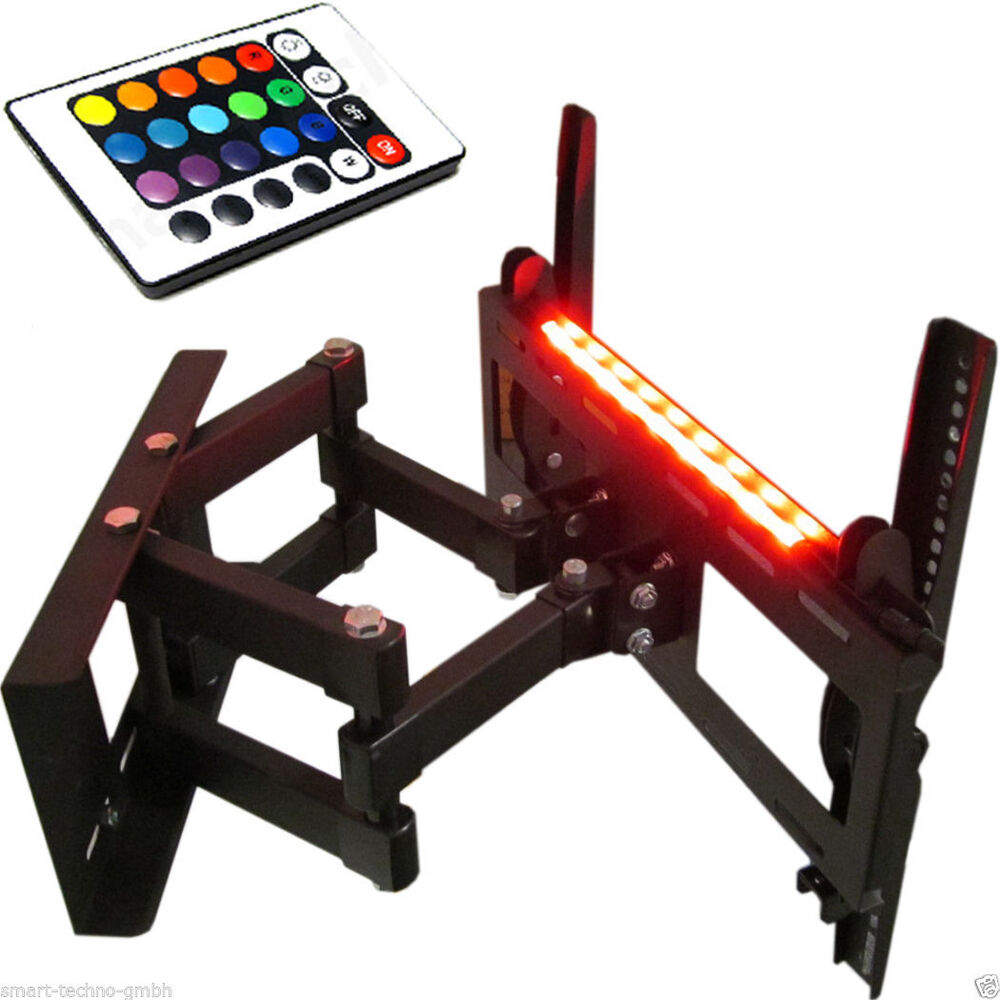 hintergrund beleuchtung 2 st ck rgb led leiste. Black Bedroom Furniture Sets. Home Design Ideas
