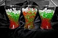 WATER AQUA CRYSTAL SOIL BALL BEADS CHRISTMAS & NEW YEARS VASES TABLE DECORATIONS