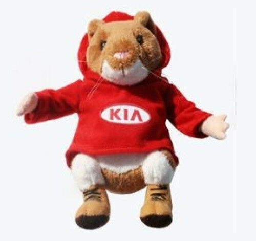 new kia hamster plush toy stuffed animal soul forte sportage sorento rio optima ebay. Black Bedroom Furniture Sets. Home Design Ideas