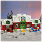 NEW Fisher Price Little People Christmas Santa's North Pole Cottage House SET