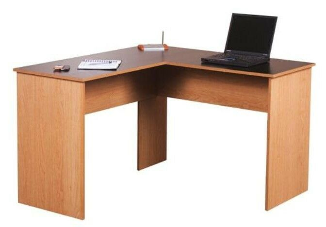 SHAPED WORKSTATI...L Shaped Computer Desk For Two